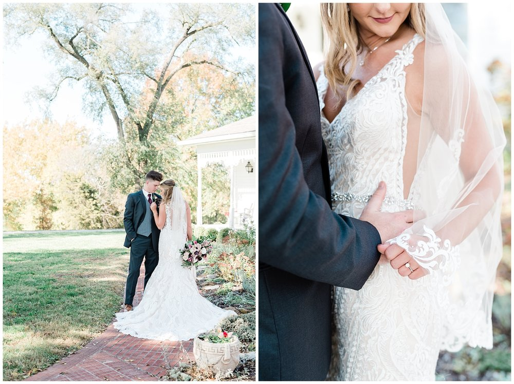 Golden Autumn Outdoor Wedding with Ivory, Bergundy, and Blush Color Palette at Blue Bell Farms  by Kelsi Kliethermes Photography_0074.jpg