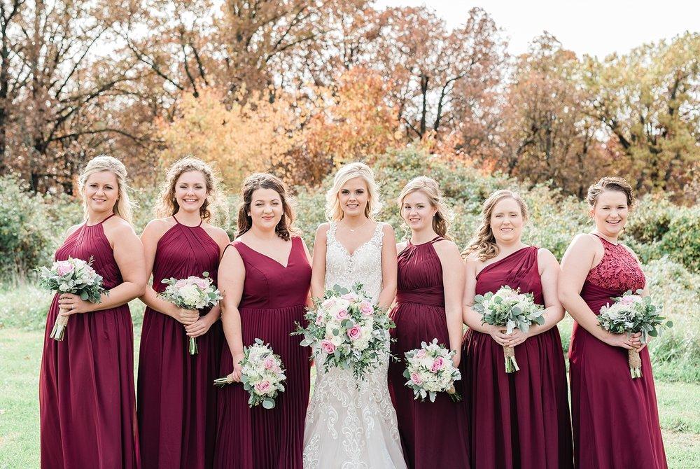 Lakeside Wedding in Fall at Mighty Oak Lodge by Misouri Wedding Photographer Kelsi Kliethermes Photography_0011.jpg