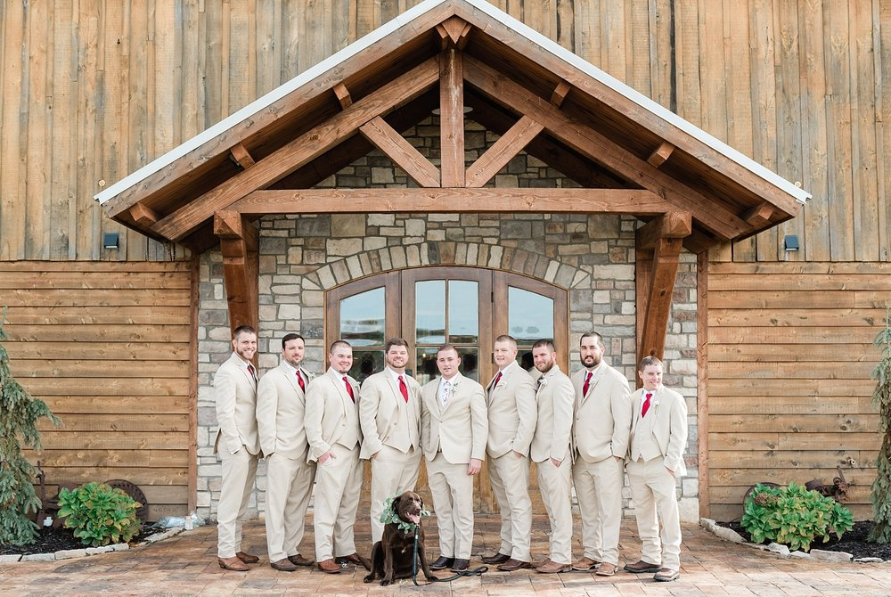 Lakeside Wedding in Fall at Mighty Oak Lodge by Misouri Wedding Photographer Kelsi Kliethermes Photography_0014.jpg