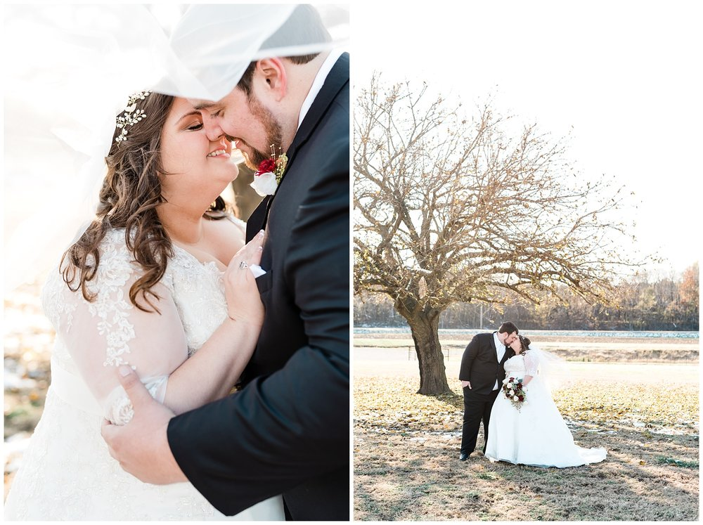 Golden Winter Wedding at The Legacy Barn in Barnett Missouri by Kelsi Kliethermes Photography Columbia Missouri Wedding Photographer_0025.jpg