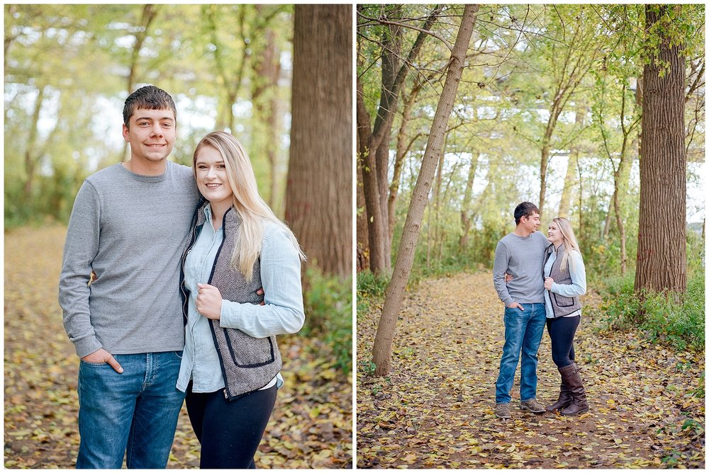 Fall Couples Session on Shore of Missouri River by Kelsi Kliethermes Photography Kansas City Missouri Wedding Photographer_0007.jpg