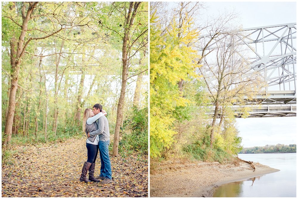 Fall Couples Session on Shore of Missouri River by Kelsi Kliethermes Photography Kansas City Missouri Wedding Photographer_0006.jpg