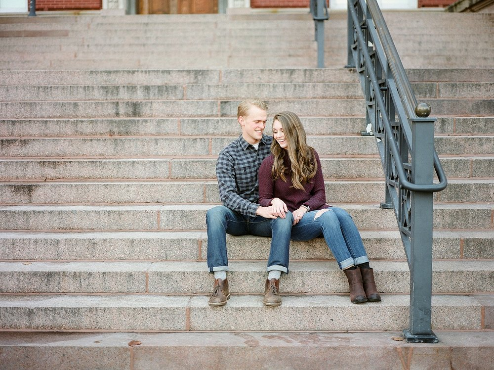 Downtown Jefferson City Engagement Session in Winter at Old Shoe Factory by Kelsi Kliethermes Photography Kansas City Missouri Wedding Photographer_0006.jpg