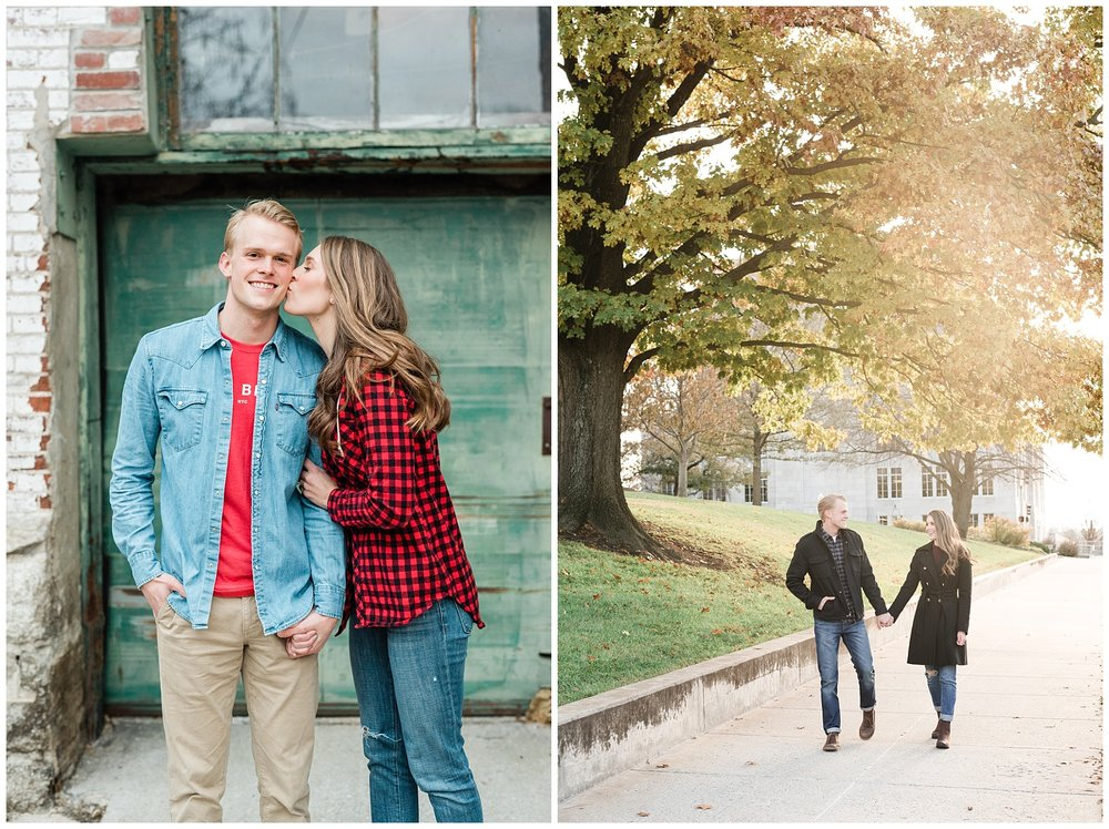 Downtown Jefferson City Engagement Session in Winter at Old Shoe Factory by Kelsi Kliethermes Photography Kansas City Missouri Wedding Photographer_0015.jpg