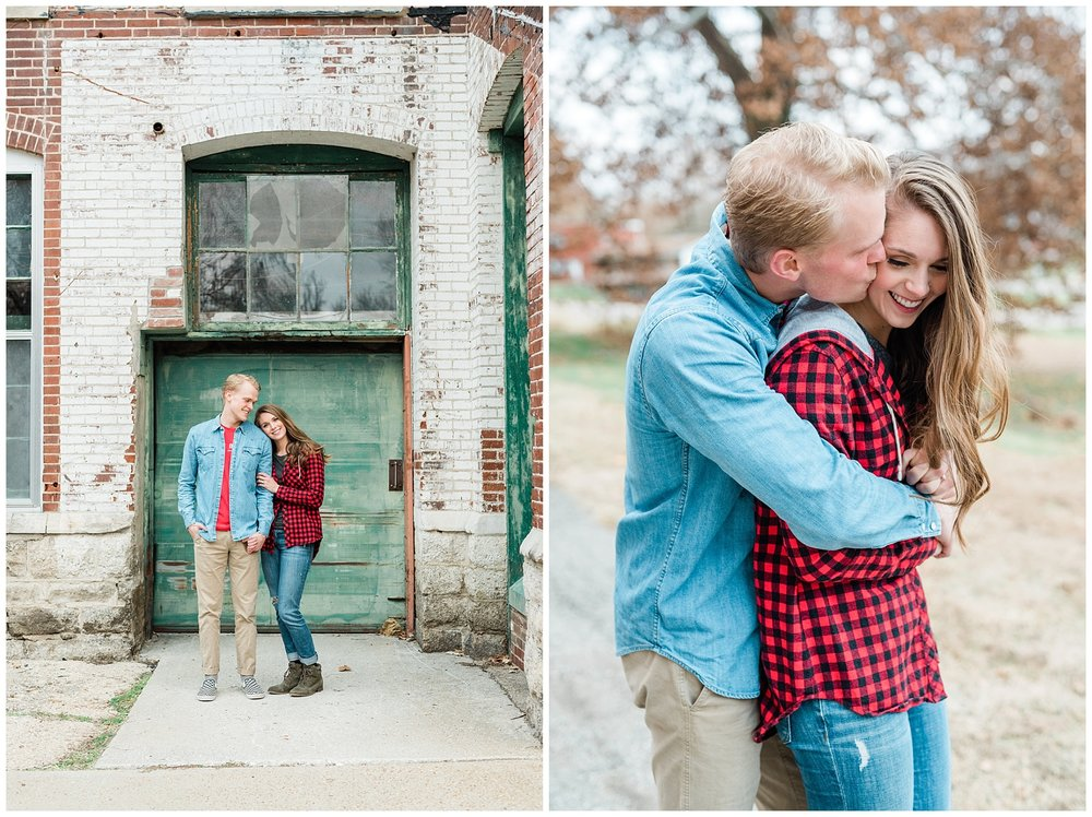 Downtown Jefferson City Engagement Session in Winter at Old Shoe Factory by Kelsi Kliethermes Photography Kansas City Missouri Wedding Photographer_0005.jpg