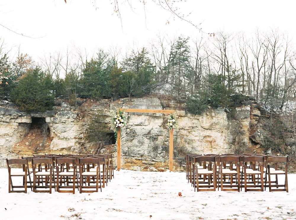 Snowy Winter Wedding at Wildcliff Events Lake With Earthy Jewel Tones and Organic Refined Style by Kelsi Kliethermes Photography Kansas City Missouri Wedding Photographer_0010.jpg