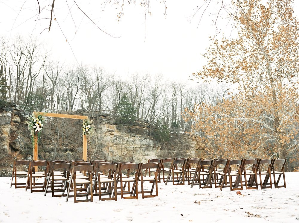 Snowy Winter Wedding at Wildcliff Events Lake With Earthy Jewel Tones and Organic Refined Style by Kelsi Kliethermes Photography Kansas City Missouri Wedding Photographer_0011.jpg
