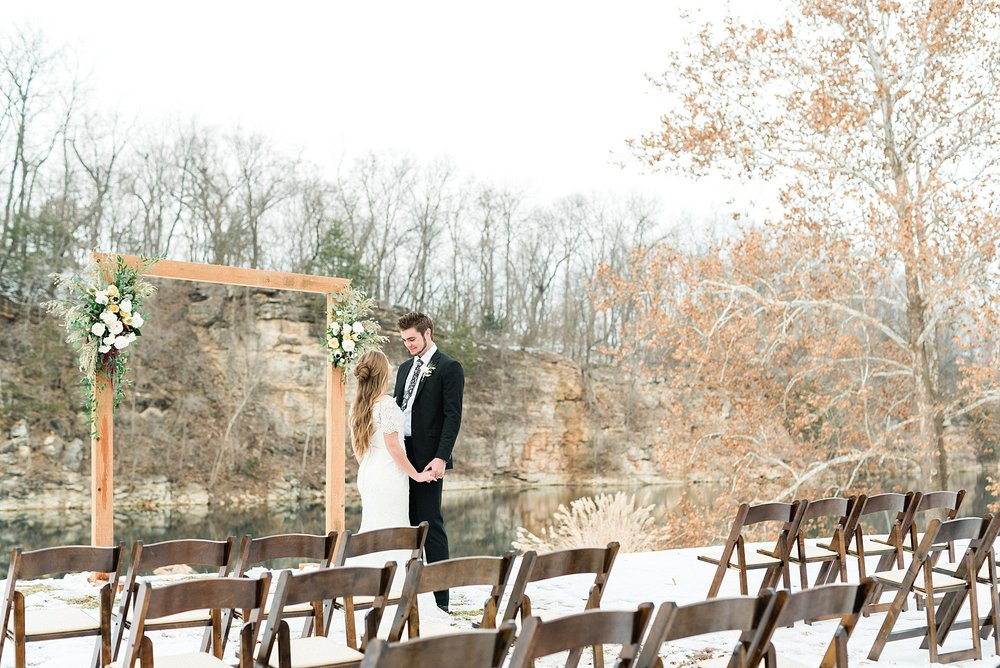 Snowy Winter Wedding at Wildcliff Events Lake With Earthy Jewel Tones and Organic Refined Style by Kelsi Kliethermes Photography Kansas City Missouri Wedding Photographer_0014.jpg