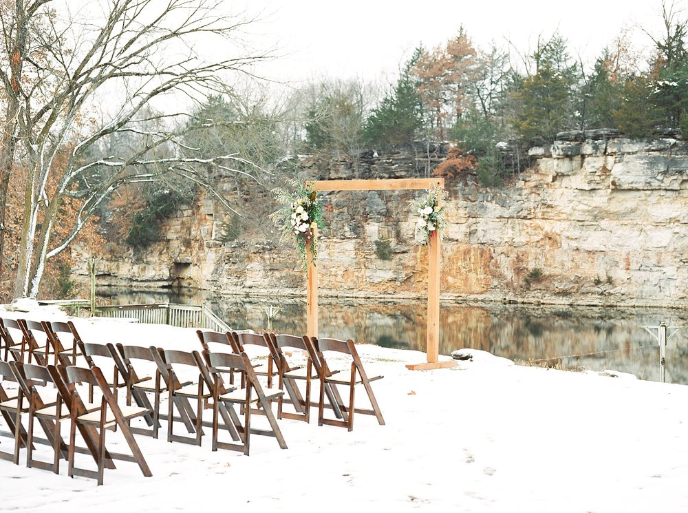 Snowy Winter Wedding at Wildcliff Events Lake With Earthy Jewel Tones and Organic Refined Style by Kelsi Kliethermes Photography Kansas City Missouri Wedding Photographer_0020.jpg