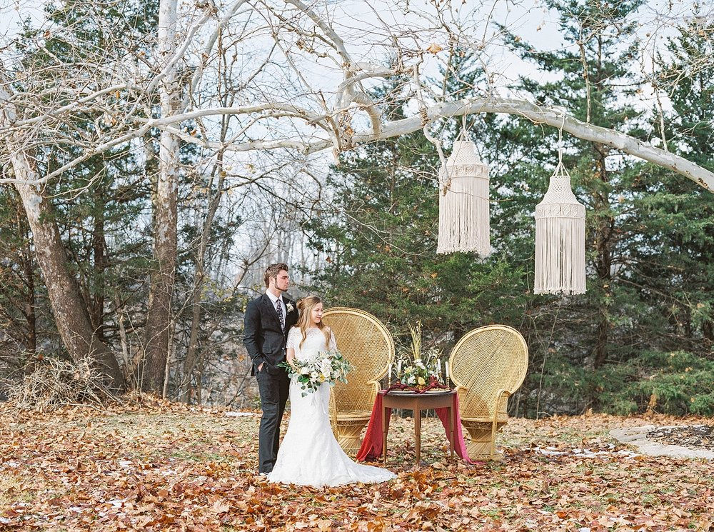 Snowy Winter Wedding at Wildcliff Events Lake With Earthy Jewel Tones and Organic Refined Style by Kelsi Kliethermes Photography Kansas City Missouri Wedding Photographer_0048.jpg