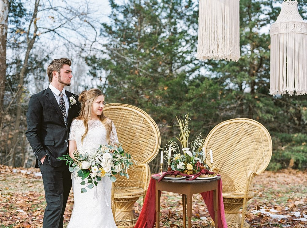 Snowy Winter Wedding at Wildcliff Events Lake With Earthy Jewel Tones and Organic Refined Style by Kelsi Kliethermes Photography Kansas City Missouri Wedding Photographer_0049.jpg