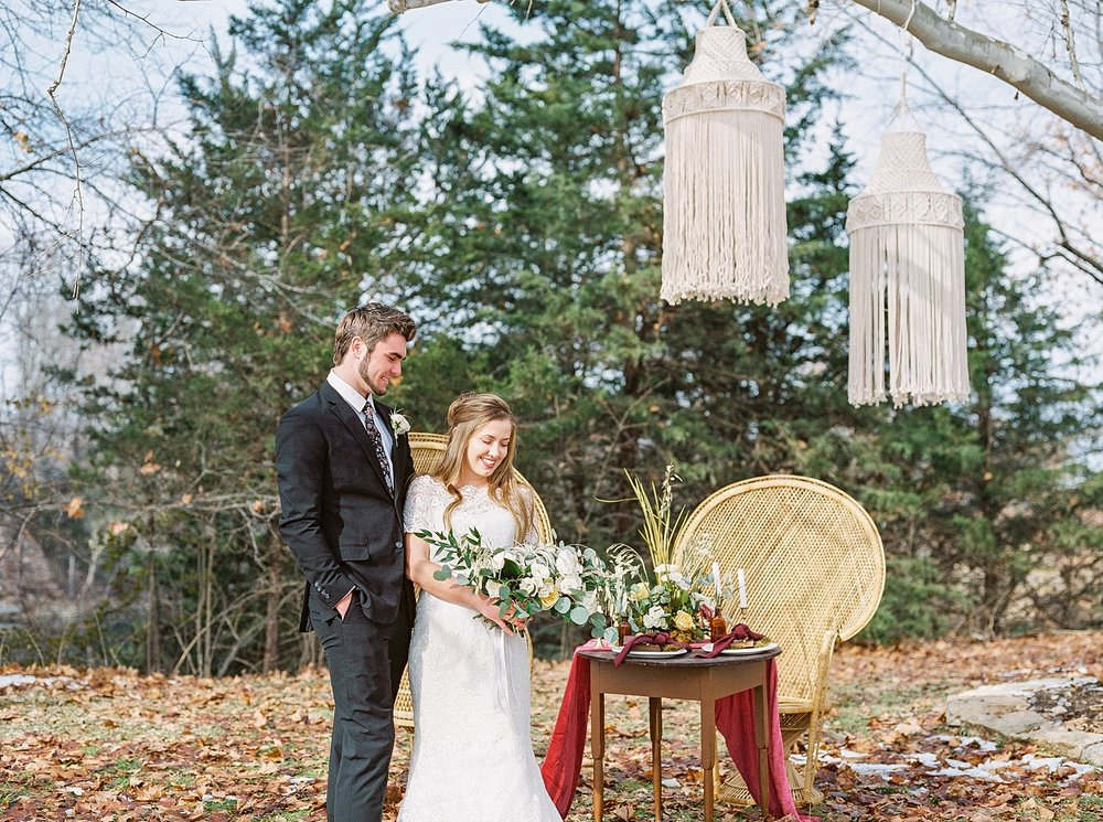 Snowy Winter Wedding at Wildcliff Events Lake With Earthy Jewel Tones and Organic Refined Style by Kelsi Kliethermes Photography Kansas City Missouri Wedding Photographer_0052.jpg