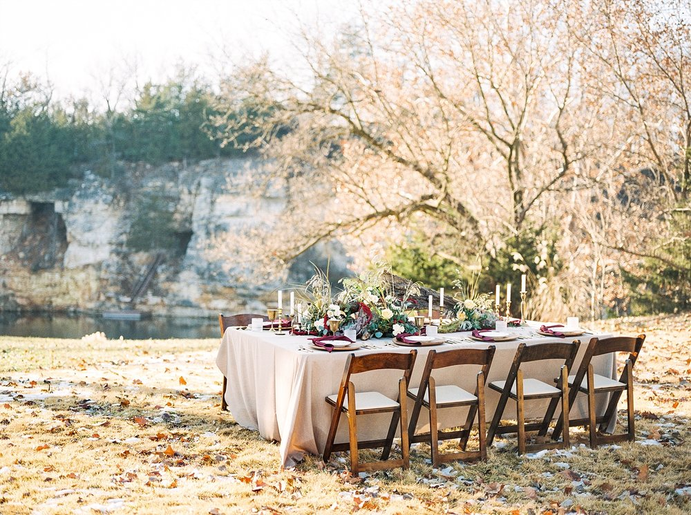 Snowy Winter Wedding at Wildcliff Events Lake With Earthy Jewel Tones and Organic Refined Style by Kelsi Kliethermes Photography Kansas City Missouri Wedding Photographer_0054.jpg