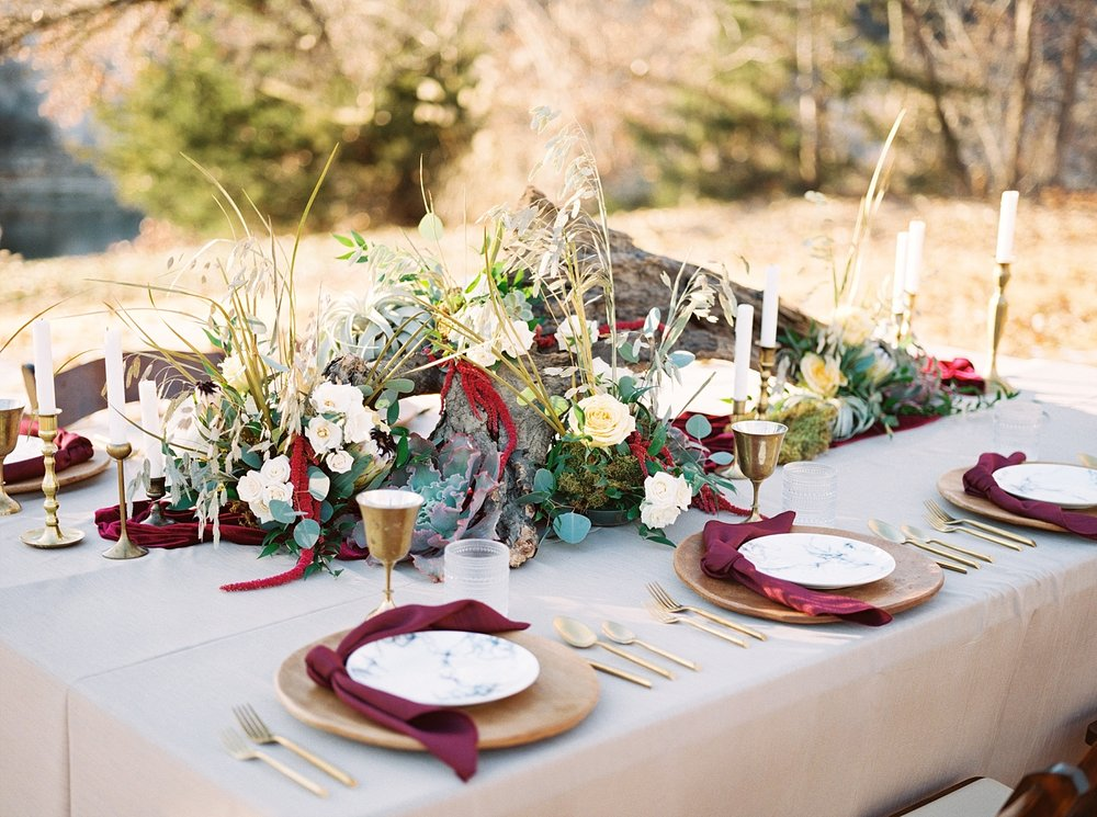 Snowy Winter Wedding at Wildcliff Events Lake With Earthy Jewel Tones and Organic Refined Style by Kelsi Kliethermes Photography Kansas City Missouri Wedding Photographer_0056.jpg