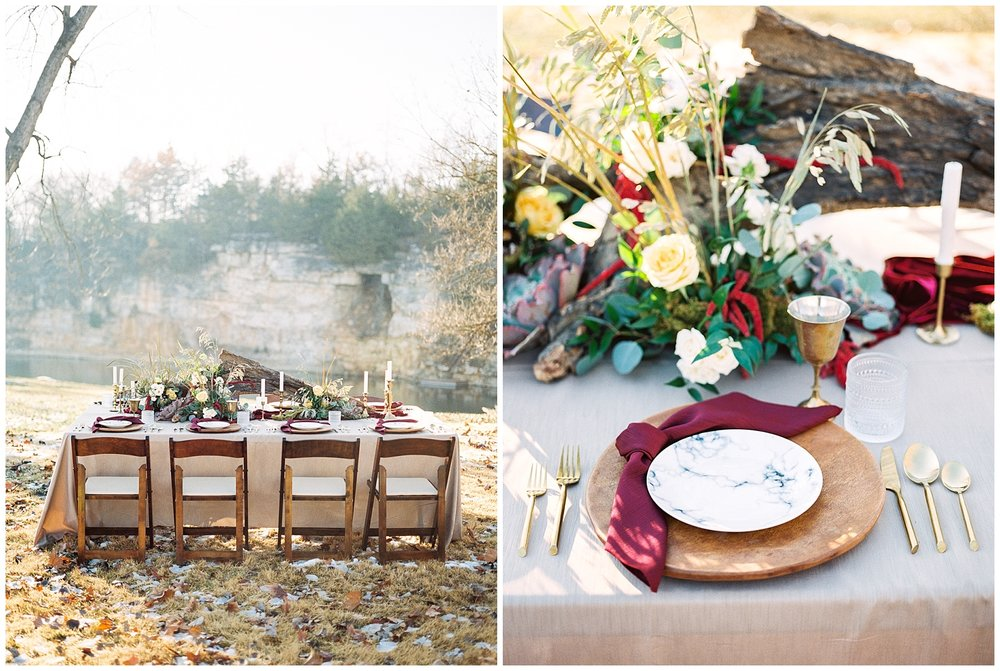 Snowy Winter Wedding at Wildcliff Events Lake With Earthy Jewel Tones and Organic Refined Style by Kelsi Kliethermes Photography Kansas City Missouri Wedding Photographer_0077.jpg