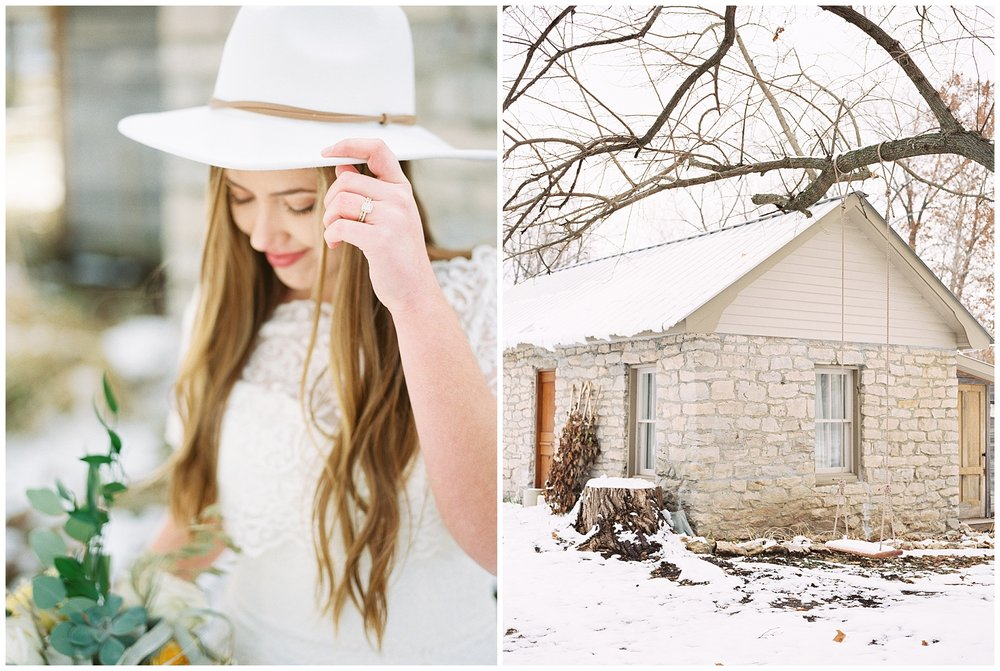 Snowy Winter Wedding at Wildcliff Events Lake With Earthy Jewel Tones and Organic Refined Style by Kelsi Kliethermes Photography Kansas City Missouri Wedding Photographer_0084.jpg