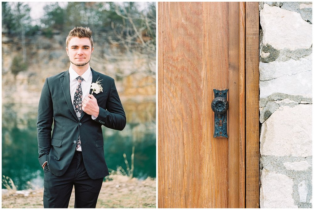Snowy Winter Wedding at Wildcliff Events Lake With Earthy Jewel Tones and Organic Refined Style by Kelsi Kliethermes Photography Kansas City Missouri Wedding Photographer_0085.jpg