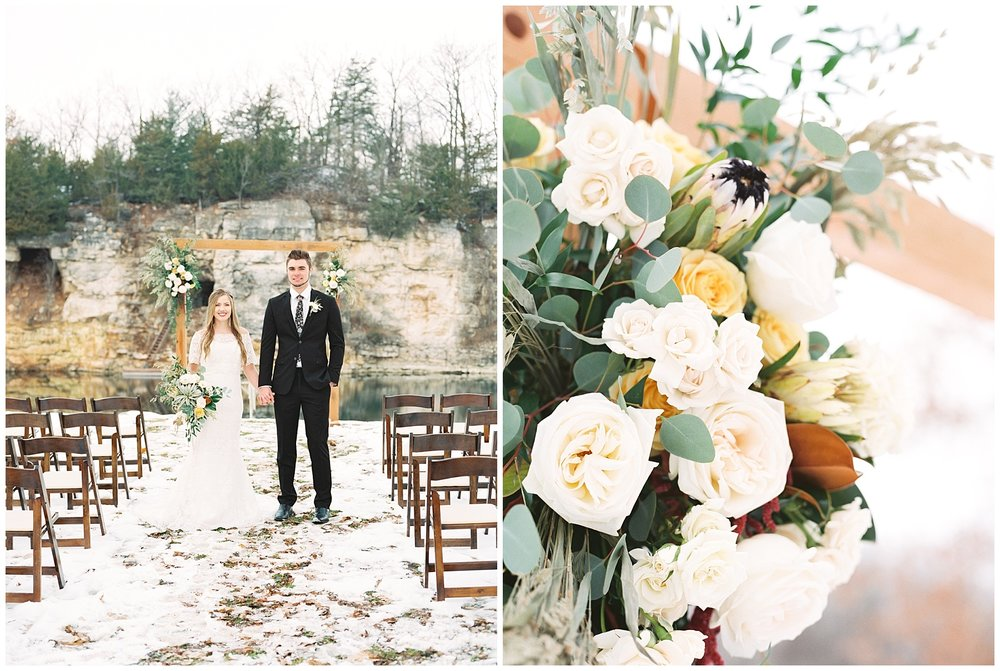 Snowy Winter Wedding at Wildcliff Events Lake With Earthy Jewel Tones and Organic Refined Style by Kelsi Kliethermes Photography Kansas City Missouri Wedding Photographer_0093.jpg