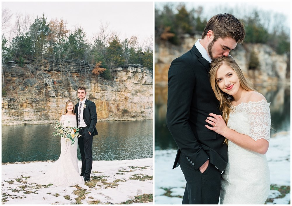 Snowy Winter Wedding at Wildcliff Events Lake With Earthy Jewel Tones and Organic Refined Style by Kelsi Kliethermes Photography Kansas City Missouri Wedding Photographer_0098.jpg
