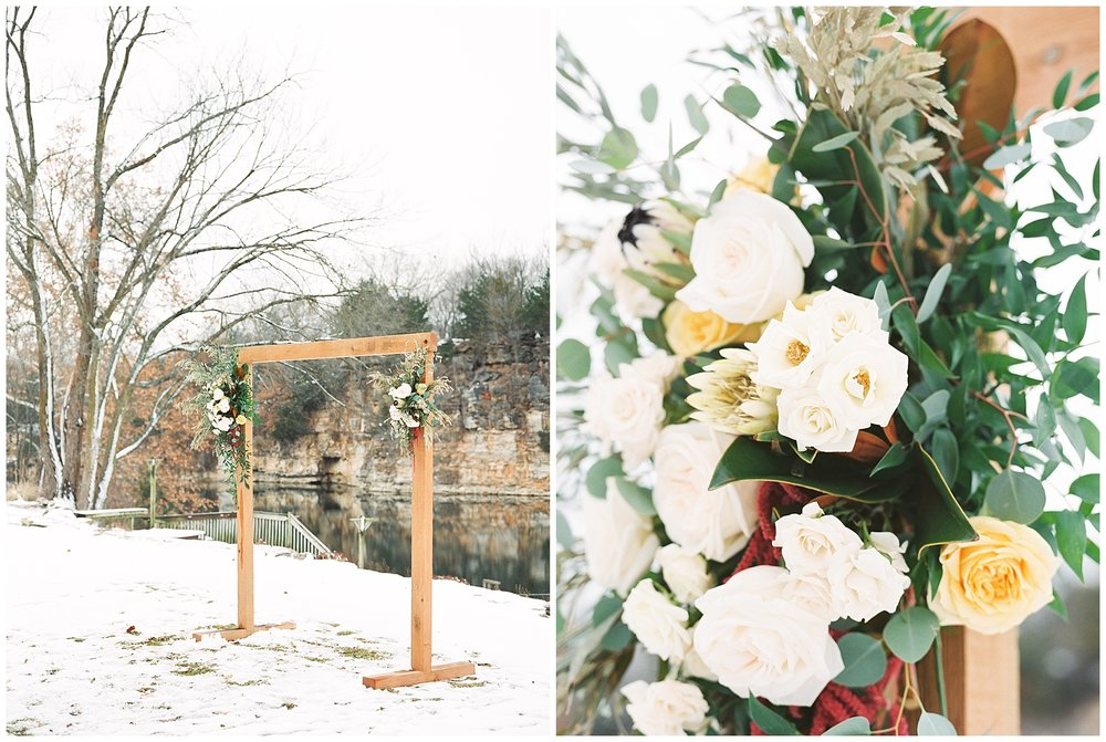 Snowy Winter Wedding at Wildcliff Events Lake With Earthy Jewel Tones and Organic Refined Style by Kelsi Kliethermes Photography Kansas City Missouri Wedding Photographer_0099.jpg