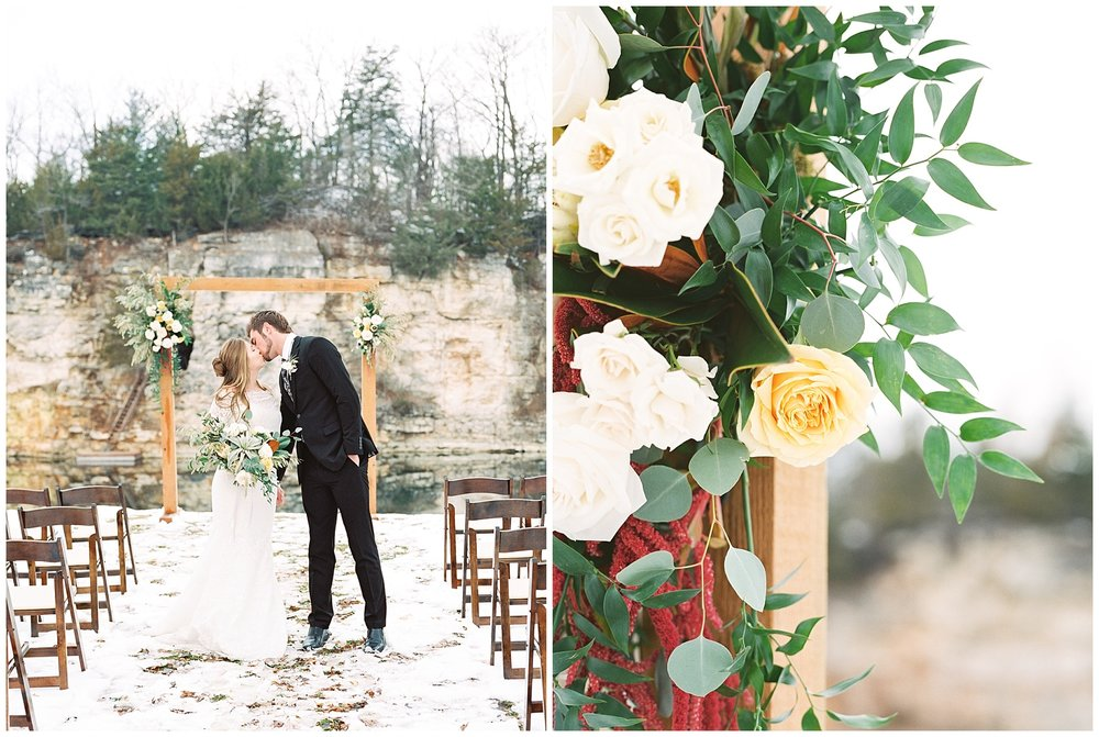 Snowy Winter Wedding at Wildcliff Events Lake With Earthy Jewel Tones and Organic Refined Style by Kelsi Kliethermes Photography Kansas City Missouri Wedding Photographer_0103.jpg