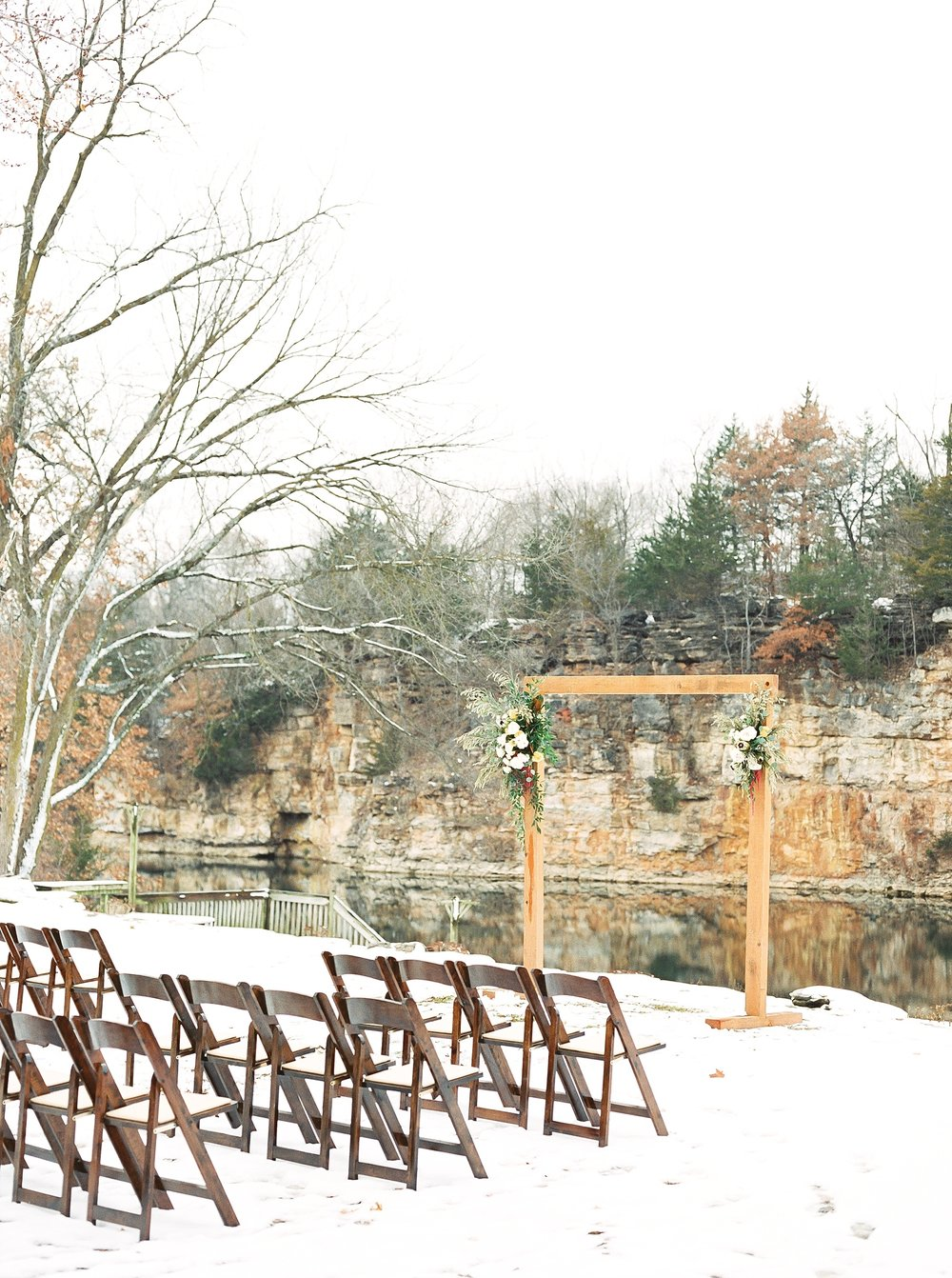 Snowy Winter Wedding at Wildcliff Events Lake With Earthy Jewel Tones and Organic Refined Style by Kelsi Kliethermes Photography Kansas City Missouri Wedding Photographer_0122.jpg