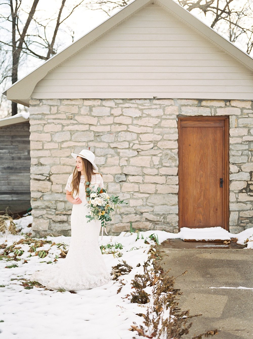 Snowy Winter Wedding at Wildcliff Events Lake With Earthy Jewel Tones and Organic Refined Style by Kelsi Kliethermes Photography Kansas City Missouri Wedding Photographer_0126.jpg