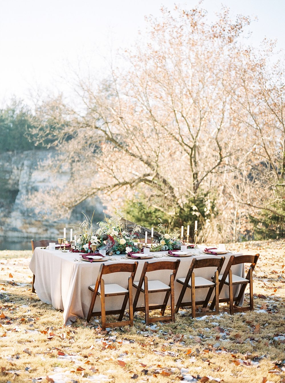 Snowy Winter Wedding at Wildcliff Events Lake With Earthy Jewel Tones and Organic Refined Style by Kelsi Kliethermes Photography Kansas City Missouri Wedding Photographer_0154.jpg