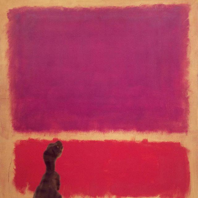 Mark Rothko, No. 2. Oil on canvas. (1962)