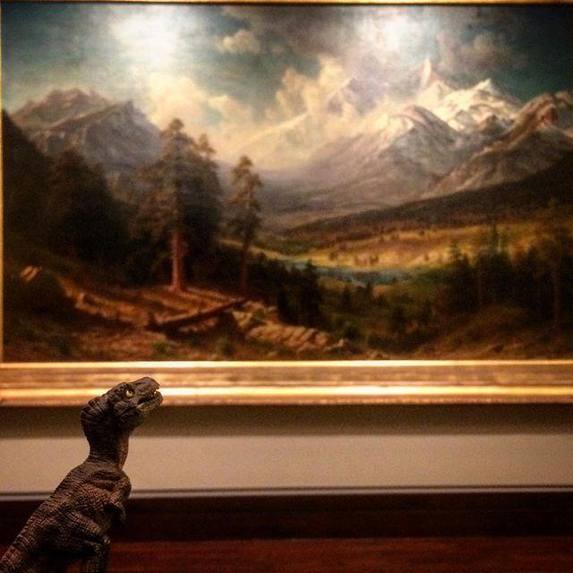 Albert Bierstadt, Estes Park, Long's Peak . Oil on canvas. (1877)