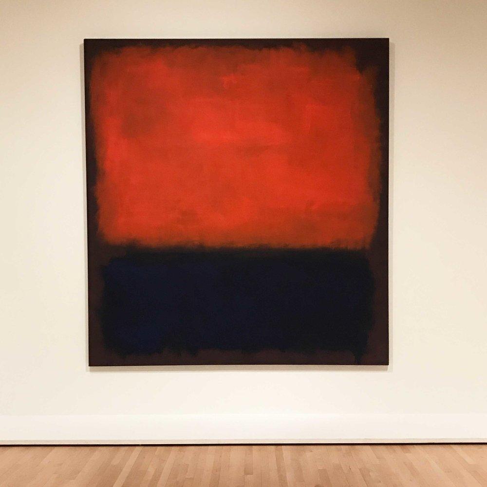 My new favorite Mark Rothko painting,  No. 14 , 1960.