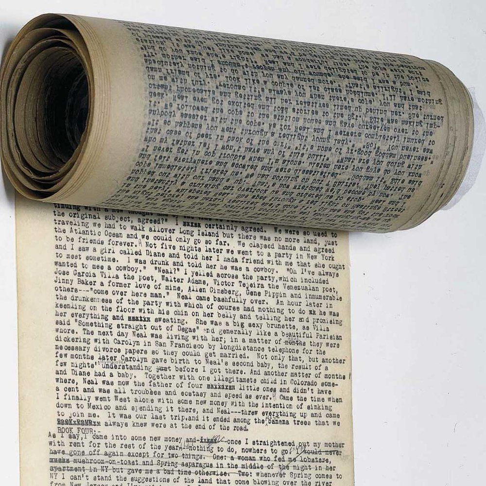 The original scroll of Jack Kerouac's  On the Road .