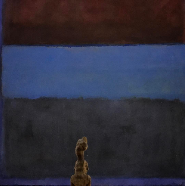 Mark Rothko,  No. 61 (Rust & Blue) (1953)  at the Museum of Contemporary Art, Los Angeles (MOCA)