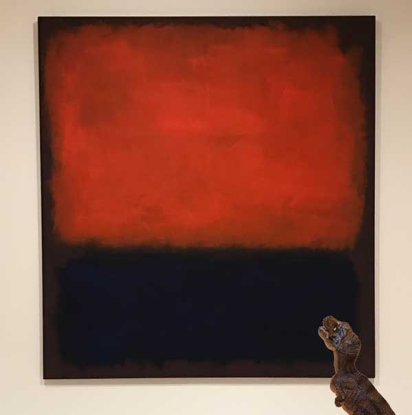 Personal favorite: Mark Rothko,  No. 14  (1960) at SFMoMA