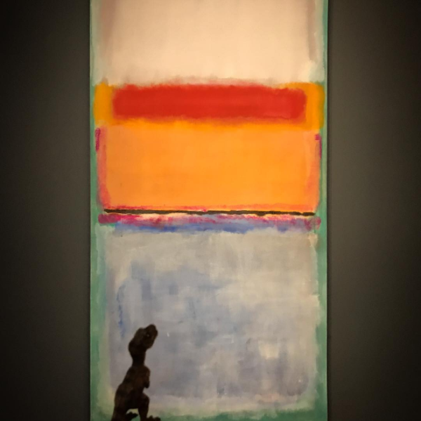 Mark Rothko,  10  (1952) at the Seattle Art Museum