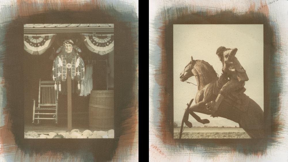 "King of the Wild Frontier. Martin City, Montana  &  Creston, Montana.5""×7"""