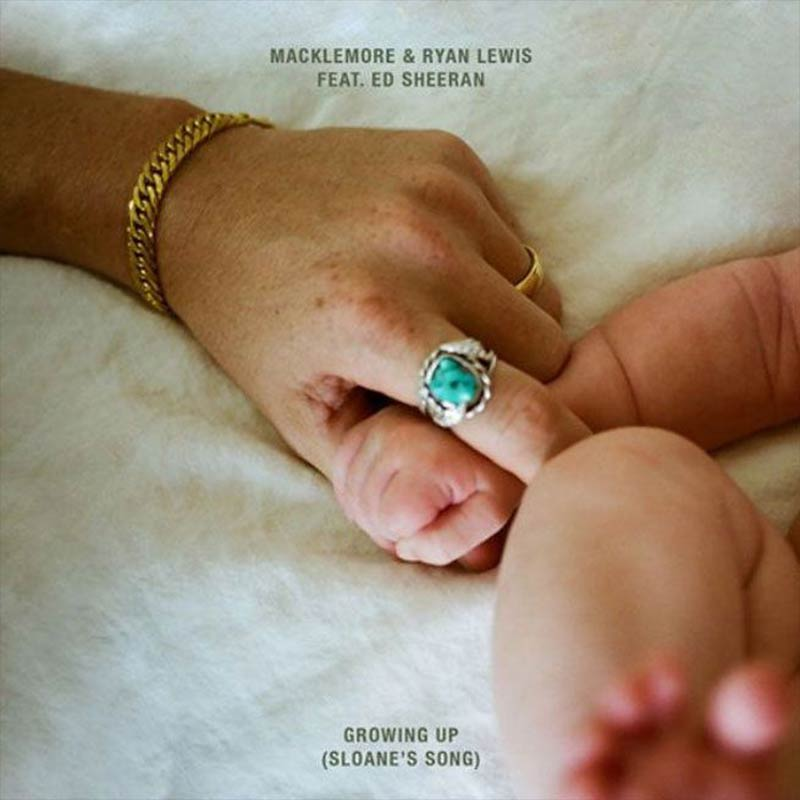 Macklemore & Ryan Lewis - Growing Up (2015)  [Songwriter/Producer]