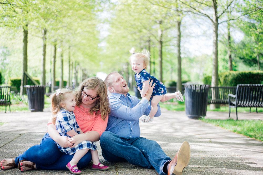 Vander Veer park family picture