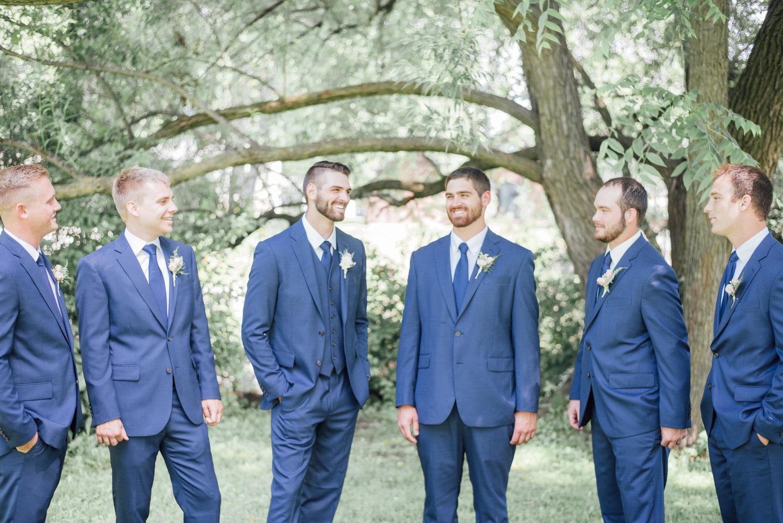 Modern Wedding Party Tuxedos Embellishment - All Wedding Dresses ...