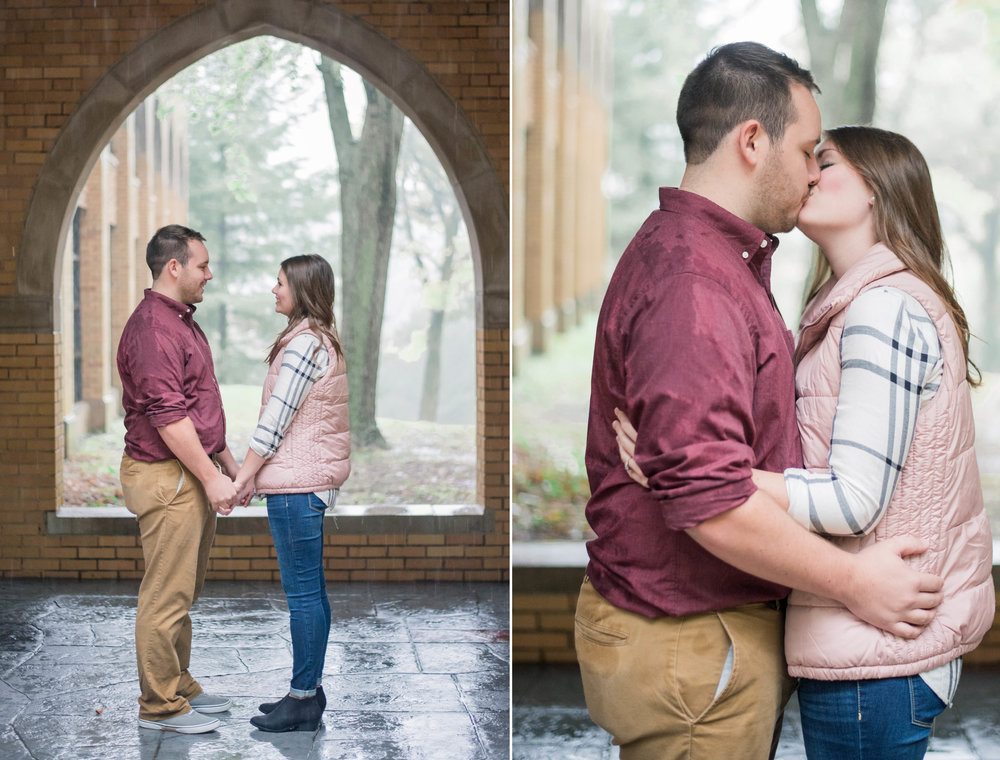 1 iowa wedding photographer - rainy engagement session .jpg