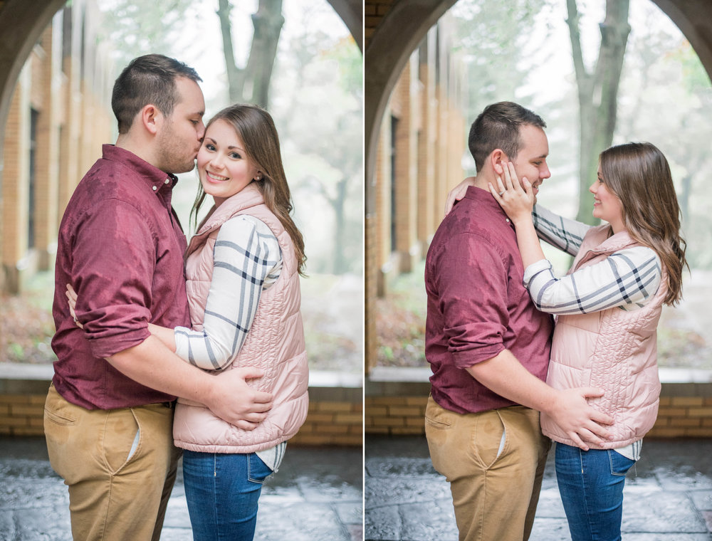 1 iowa wedding photographer - rainy engagement session 2.jpg