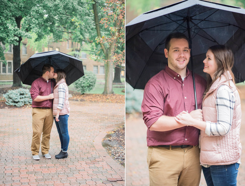 1 iowa wedding photographer - rainy engagement session 4.jpg