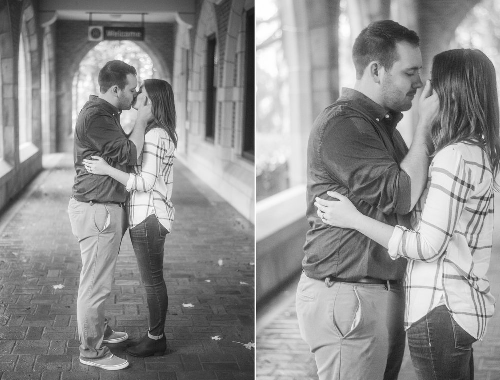 1 iowa wedding photographer - rainy engagement session 5.jpg