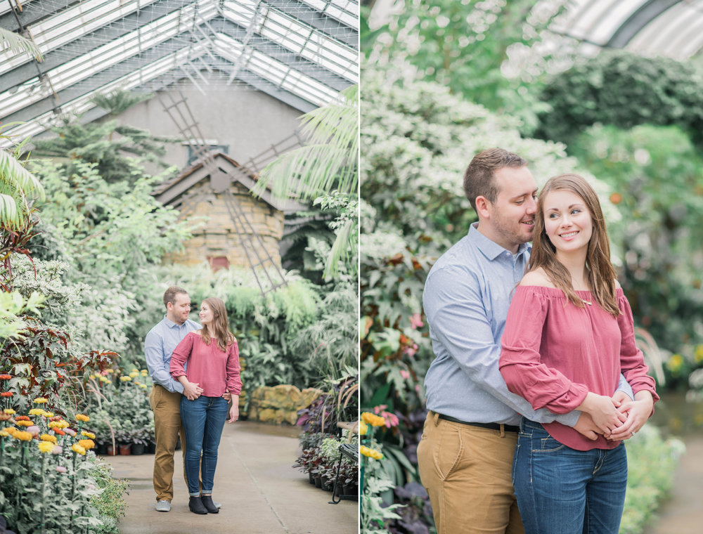 1 iowa wedding photographer - rainy engagement session 11.jpg
