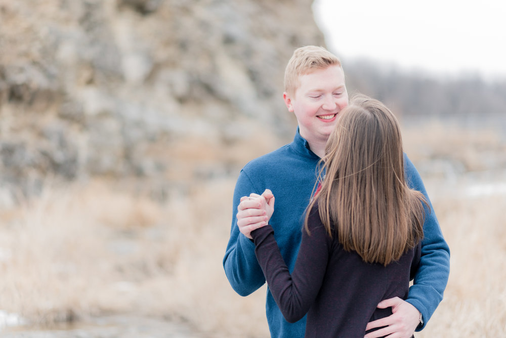 iowa wedding photographer - lake macbride engagement photography-37.jpg