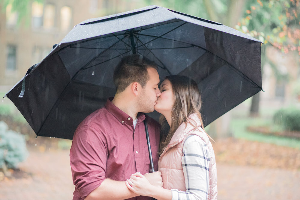 Umbrellas are the perfect prop for a rainy day!