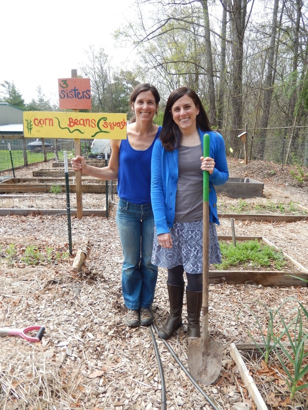 Marin Leroy, Evergreen's Environmental Education Program Coordinator and Carrie Pusey, Title 1 Support Teacher are on a learning adventure this summer to The Edible Schoolyard Institute in Berkeley, Ca.