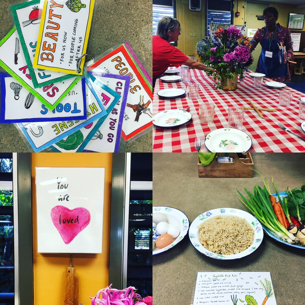 Every item in the ESY kitchen classroom is intentional. The space exudes love, beauty and acceptance.  Anyone who enters immediately feels a sense of belonging.