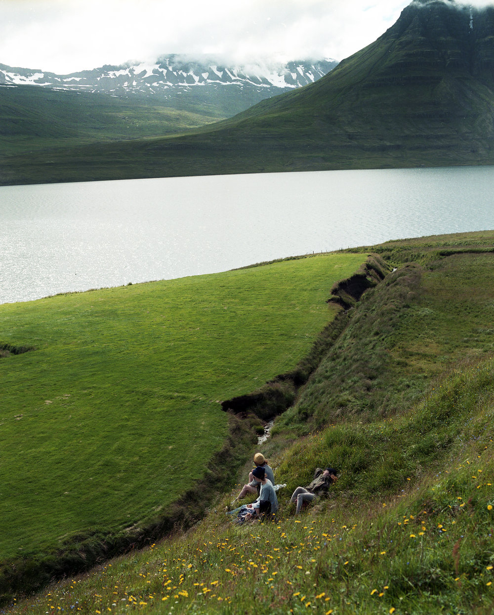 Picnic along the Fjord