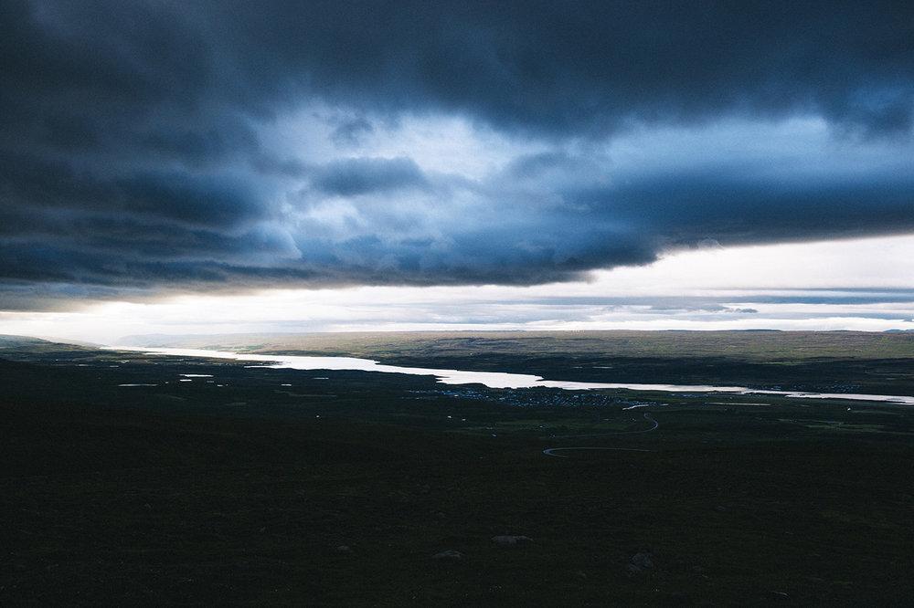 Overlooking Egilsstaðir